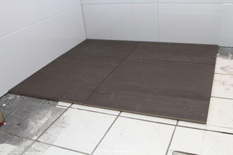 Badkamer renovatie neerijse de klussenier johan desmedt